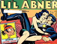 "Li'l Abner Vol 5-1989-Strip Reprints Hard Cover ""Dailies 1939   """