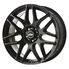 "20"" JBW ROGUE GLOSS BLACK ALLOY WHEELS+TYRES TO VW T5 T6 SET OF 4"