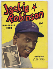 Jackie Robinson #1 Export Pub CANADIAN EDITION Jackie Robinson (photo cover)