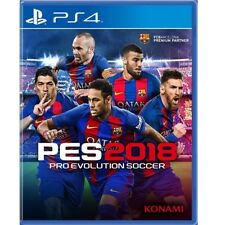 Pro Evolution Soccer 2018 Ps4 Pes 2018 Brand New Factory Sealed