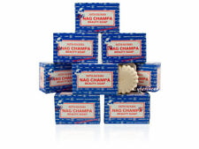 8 x 75g Grams Satya Nag Champa Natural Beauty Soap Bars (8-Pack)