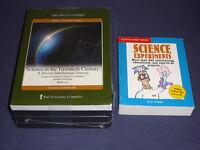 Teaching Co Great Courses  CDs         SCIENCE in TWENTIETH CENTURY  new + BONUS