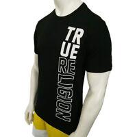 NWT TRUE RELIGION AUTHENTIC MEN'S BLACK CREW NECK SHORT SLEEVE T-SHIRT L XL