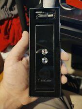 Portable Smart Voice Translator Two-Way Real Time 70 Multi-Language Translation