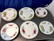 Royal Albert Covent Garden Fruit Series 18 pcs. table service - Bone china - NEW