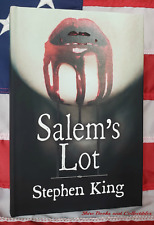 NEW Stephen King Salem's Lot Hardcover Deluxe Gift Edition Glows in Dark
