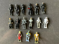 Star Wars Micro Machines Action Fleet 15 Figures, Imperial, Bounty Hunters, #11A