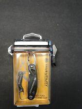 True Utility TU198 Clipstick Quick Release Multi Tool Carbiner Knife Scissors
