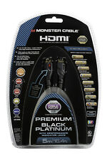 Monster UltraHD Premium Black Platinum Ultimate HDR 4K HDMI Cable 27Gbps 16ft 5m