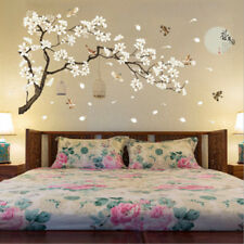 3D Flower Tree Removable Mural PVC Decal Wall Sticker Art For Bedroom Home Decor