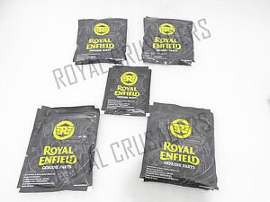 NEW ROYAL ENFIELD 4 SPEED 350cc 500cc COMPLETE CABLE KIT SET OF 5