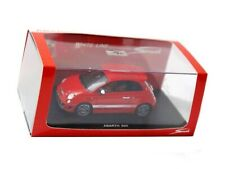 WOW EXTREMELY RARE Fiat 500 Abarth 133HP 2008 Red Resin 1:43 Spark-Minichamps