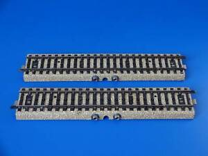 MARKLIN H0 - 5105 - 2x STRAIGHT TRACK CONTACT SECTION - M Track