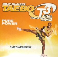 Billy Blanks TAEBO T3 Pure Power DVD TOTAL TRANSFORMATION Empowerment Workout