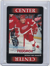 DETROIT RED WINGS 1996-97 TEAM OUT SERGEI FEDOROV