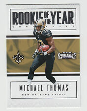 MICHAEL THOMAS 2016 Panini Contenders Rookie of the Year Contender #9 Saints
