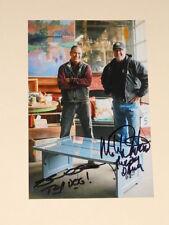 Salvage Dawgs MIKE WHITESIDE + ROBERT KULP Signed 4x6 Photo BLACK DOG AUTOGRAPH