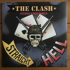 "The Clash - Straight To Hell  7"" Vinyl"
