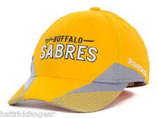 Buffalo Sabres Reebok M252Z NHL Pro Shape Practice Flex Fit Hockey Cap Hat