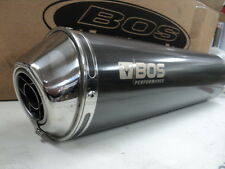 AUSPUFF BOS CARBON-STEEL CARBON-LOOK OVAL SUZUKI GSX-R 1000 BJ.01-02