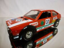 MEBETOYS 6723 ALFA ROMEO ALFASUD SPRINT #37 - RED 1:25 - VERY GOOD CONDITION