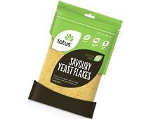 6 X 500g Lotus Nutritional Savoury Yeast Flakes ( 3kg ) Gluten / Vegan