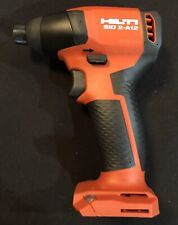 New Edition HILTI SID 2 A12 Drill Impact Driver, No Battery No Charger Bare Tool