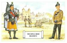Postcard The Royal Irish Regiment, Soldiers in Combat Dress by Geoff White