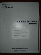 VAN NORMAN (BRYANT) 1C Operator and Parts Manual