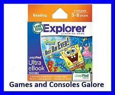 Leappad eBook Cartridge SpongeBob SquarePants Best Day Ever Leap Pad Ultimate