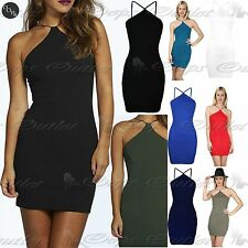Jersey Stretch, Bodycon Sleeveless Dresses for Women