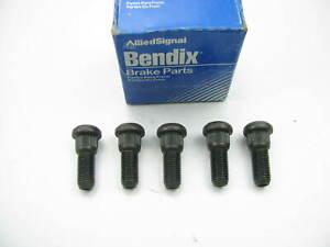 (5) Bendix 142102 Wheel Lug Studs