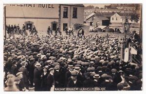RAILWAY STRIKE AT LLANELLY AUG 1911