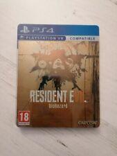 PS4 Capcom Biohazard 7 Resident Evil NEW RARE steelbook collectors