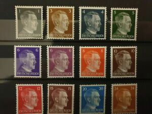 Germany - 1945 - local post Meissen stamps - MLH