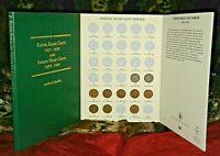 Final Decade of Indian Head Cents (1900-1909) Ten Coin Lot w/ Folder