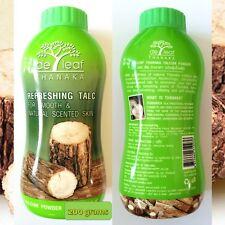 De Leaf Talcum powder W Tanaka or Thanaka Best natural skin care products 200g