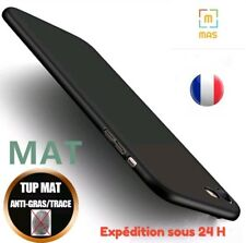 COQUE,HOUSSE NOIR MAT SILICONE GEL POUR IPHONE 6/7/8/X/R/XS S PLUS MAX,ANTI-CHOC