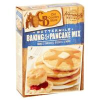 (2 Pack) Cracker Barrel Old Country Store Buttermilk Baking and Pancake Mix 32oz