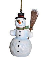 M.I. Hummel Bee My Friend Snowman Ornament Nib #827401