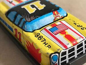 japanese tin toys 6544 Racing Car USA