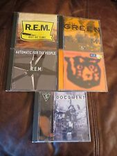 5 REM CD's GREEN,Monster,Automatic,Document,Out of Time