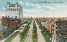 WINNIPEG MAN – Fort Garry Hotel and Broadway