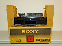 Sony BDP-S5000ES High-End Blu-ray-Player, OVP&NEU, 2 Jahre Garantie