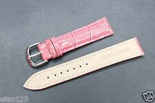 L-310 20mm Pink Genuine Leather Wristwatch Bands / Watches Band Brand-New