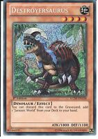 YU-GI-OH: DESTROYERSAURUS - SECRET RARE - LCJW-EN158 - 1st EDITION