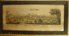 Gravure Landau in der Pfalz Palatinat Rhein Deutschland Gravur Etching Engraving