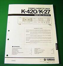 Original Yamaha K-420 / K-27 Service Manual