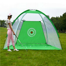 Golf Practice Net Sports Portable Grassland Club With Hitting Mat Indoor Outdoor