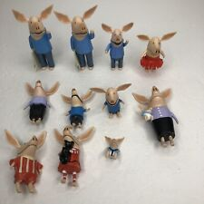 Spin Master Olivia The Pig Olivia's Family Lot Of 11 Figures
